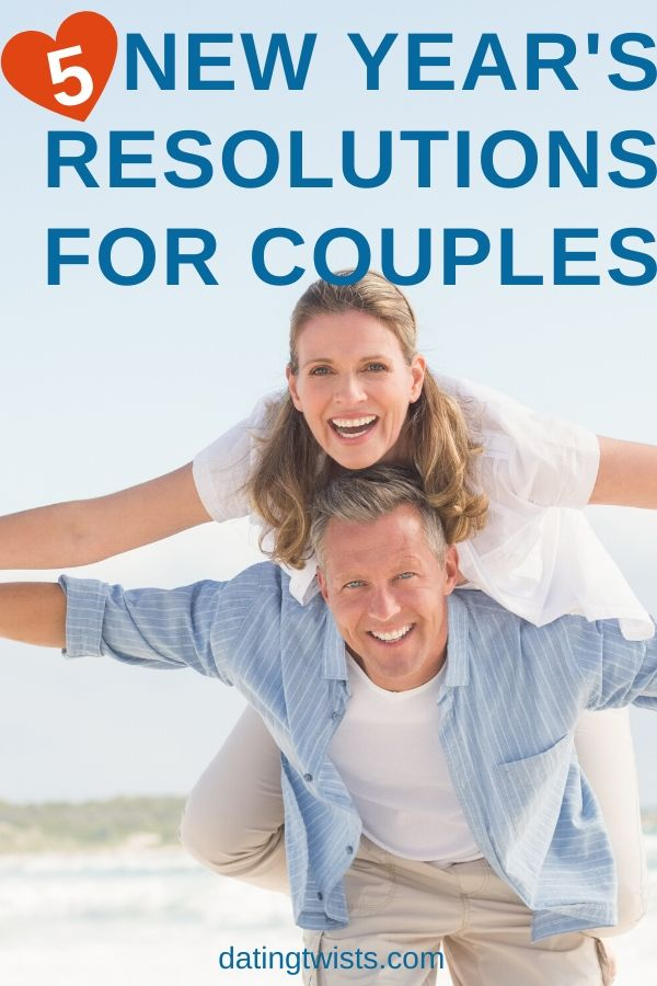 Here are 5 New Year's resolutions for couples to help you have the best relationship possible. #relationshipgoals #relationships #couples #dating #marriedlife #happiness